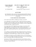 Quyết định 1427/QĐ-UBND năm 2013 tỉnh Lâm Đồng