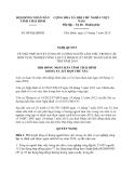 Nghị quyết 08/NQ-HĐND năm 2013 tỉnh Thái Bình