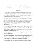Thông tư 07/2013/TT-BNV