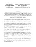 Quyết định 27/2013/QĐ-UBND Thành phố Hồ Chí Minh