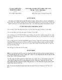 Quyết định 26/2013/QĐ-UBND tỉnh Đồng Tháp