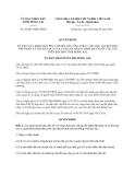 Quyết định 48/2013/QĐ-UBND