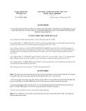 Quyết định 1299/QĐ-UBND