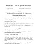 Quyết định 15/2013/QĐ-UBND tỉnh Khánh Hòa