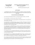 Quyết định 18/2013/QĐ-UBND tỉnh Điện Biên