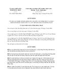 Quyết định 28/2013/QĐ-UBND tỉnh Đồng Tháp