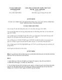 Quyết định 25/2013/QĐ-UBND tỉnh Bình Định