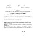 Quyết định 1217/QĐ-UBND