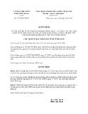 Quyết định 1357/QĐ-UBND
