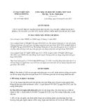 Quyết định 1457/QĐ-UBND