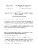 Quyết định 23/2013/QĐ-UBND tỉnh Đồng Tháp