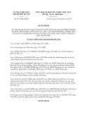 Quyết định 4571/QĐ-UBND