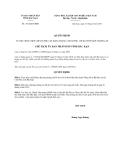 Quyết định 1352/QĐ-UBND