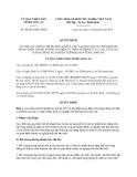 Quyết định 40/2013/QĐ-UBND tỉnh Long An