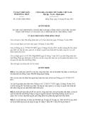 Quyết định 27/2013/QĐ-UBND  tỉnh Đồng Tháp