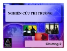 Bài giảng Nguyên lý marketing: Chương 2 - Nguyễn Văn Thoan