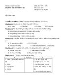 Đề kiểm tra 1 tiết Địa 9 – THCS Hồng Hạ (kèm đáp án)