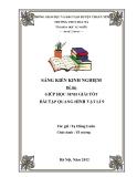 SKKN: Giúp HS giải tốt bài tập quang hình Vật Lí 9 - GV. Tạ Hùng Luân