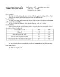 Đề kiểm tra 1 tiết Địa 9 – THCS Phú Thạnh 2011-2012 (kèm đáp án)