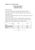 Đề kiểm tra giữa kì 1 Địa 9 – THCS Nguyễn Thị Định (kèm đáp án)