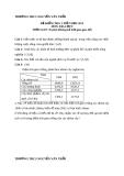 Đề kiểm tra 1 tiết HK1 Địa 9 – THCS Nguyễn Văn Trỗi (kèm đáp án)