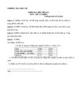 Đề kiểm tra 1 tiết HK1 Địa 9 – THCS Đức Trí (kèm đáp án)