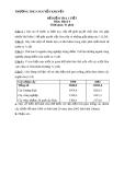 Đề kiểm tra 1 tiết Địa Lí lớp 9 – THCS Nguyễn Khuyến (kèm đáp án)