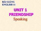 Bài giảng Tiếng Anh 11 Unit 1: Friendship