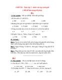 10 Đề thi học sinh giỏi Toán lớp 3