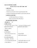 Bài 11: Vệ sinh cơ quan bài tiết nước tiểu - Giáo án Tự nhiên Xã hội 3 - GV:N.T.Sỹ