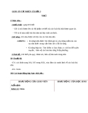 Bài 54: Thú - Giáo án Tự nhiên Xã hội 3 - GV:N.T.Sỹ