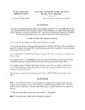 Quyết định 369/2013/QĐ-UBND