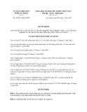 Quyết định 20/2013/QĐ-UBND tỉnh An Giang