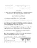 Nghị quyết 07/2013/NQ-HĐND tỉnh Cà Mau