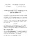 Quyết định 14/2013/QĐ-UBND tỉnh Bạc Liêu