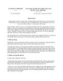 Thông báo 243/TB-VPCP