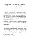 Thông báo 259/TB-VPCP