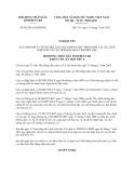 Nghị quyết 06/2013/NQ-HĐND tỉnh Bến Tre