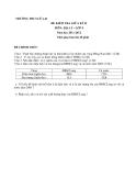 Đề kiểm tra giữa HK2 Địa 9 – THCS Lê Lai 2011-2012 (kèm đáp án)