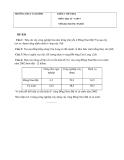 Đề kiểm tra 1 tiết kì 2 Địa 9 – THCS Tam Bình (kèm đáp án)