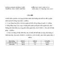 Đề kiểm tra 1 tiết kì 2 Địa 9 – THCS Thủy Dương 2012-2013 (kèm đáp án)