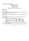 Đề kiểm tra giữa HK2 Địa 9 – THCS Dương Bá Trạc (kèm đáp án)