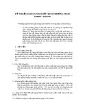 Kỹ thuật kháng sinh đồ theo phương pháp Kirby - Bauer