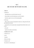 Giáo án GDCD 6 bài 11: Mục đích học tập của học sinh