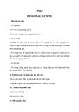 Giáo án GDCD 6 bài 2: Siêng năng kiên trì