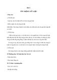 Giáo án GDCD 6 bài 5: Tôn trọng kỉ luật