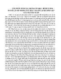 """Hình tượng người lái đò trong tuỳ bút """" Người lái đò sông Đà"""" của Nguyễn Tuân"""