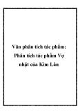 Phân tích truyện ngắn Vợ nhặt của Kim Lân