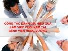 Tiểu luận: Công tác đánh giá hiệu quả làm việc cuối năm tại bệnh viện Hùng Vương