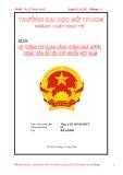 Tiểu luận: Hệ thống cơ quan hành chính nhà nước Cộng hòa xã hội chủ nghĩa Việt Nam